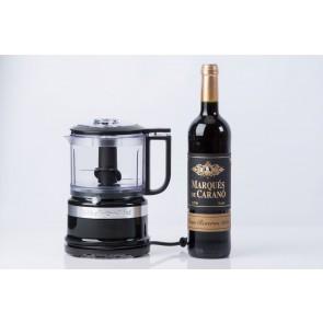 KitchenAid minifoodprocesser og rødvin